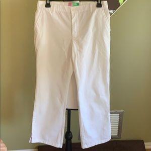 Roxy Pants Juniors Size 5 (White) Juniors Size 5